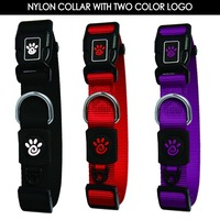 Eco-friendly Durable Pet Collar with Plastic Buckle