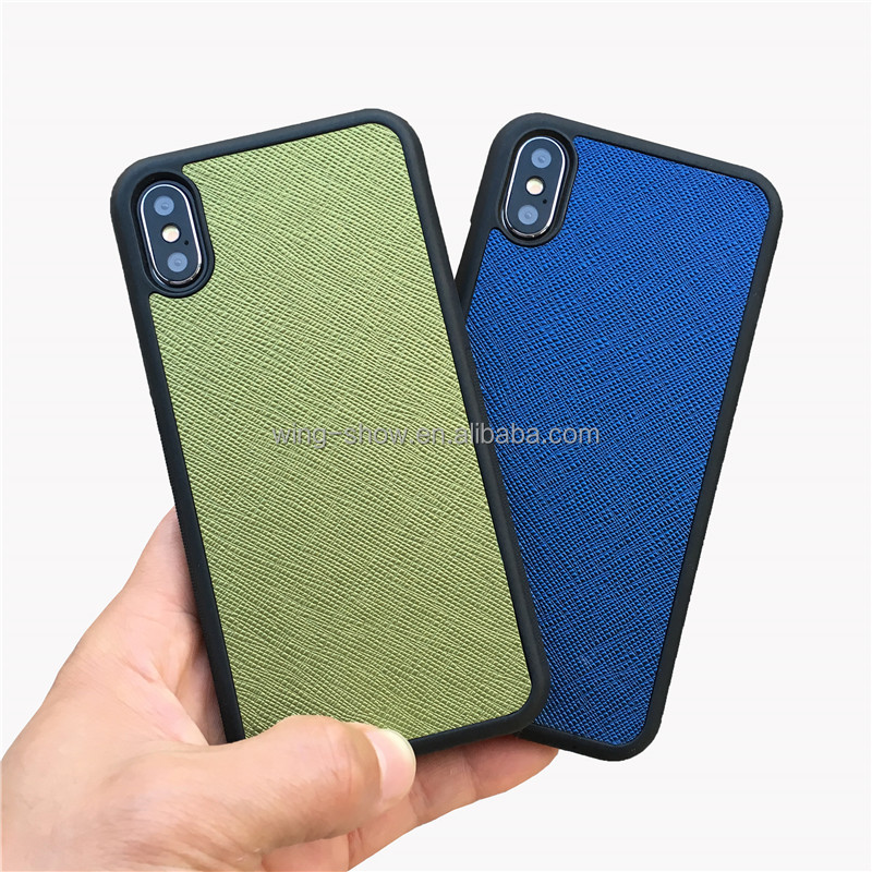 Best selling 100% brand new mobile phone genuine leather case 2018