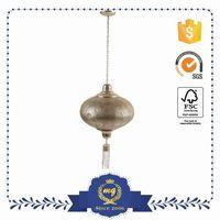 Direct Price Make To Order Foldable Vintage Light Fan Shape Of Pendant Lamp