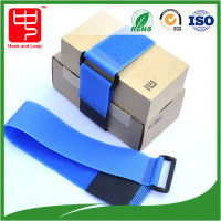 Free sample plastic buckle adjustable hook and loop strap