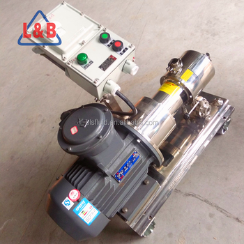3000 RPM Homogenizer Stainless Steel 316 L Modified Bitumen Mixers