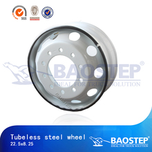 8.25x22.5 bus tubeless truck auto steel wheel rim