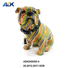 Home Bar Craft Gift Dog Animal Shape Showpieces For Home Decoration