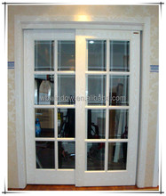 Africa type safety pvc door design with grill in alibaba for sale