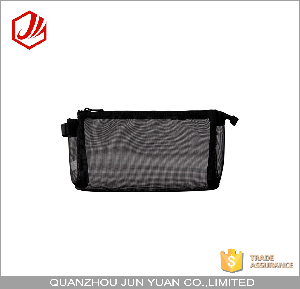 OEM china supplier cute leisure mesh pencil case for college