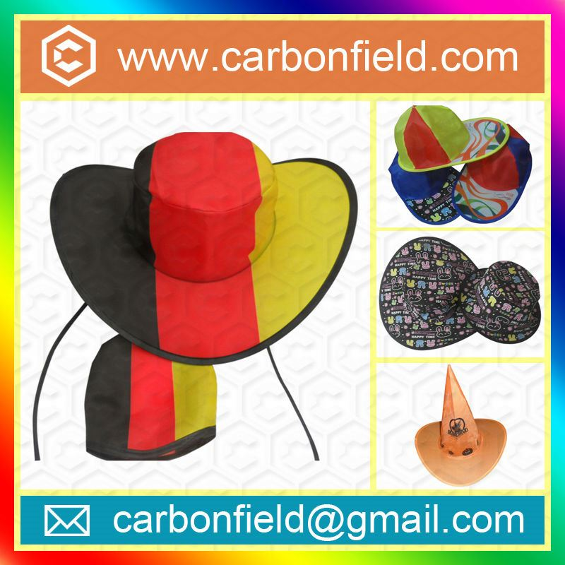 Good selling hats made of recycled materials