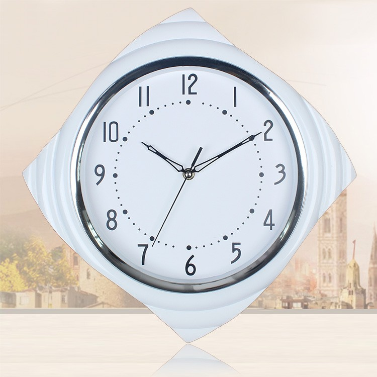 battery operated small clocks gift wall clock living room decorative wall clock