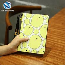 Wholesale Carton Patten PC PU leather case cover for ipad mini 1 2 3