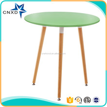 bright Colorful plastic modern replica wholesale emes dining table