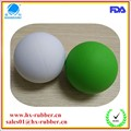 Various colorful 8mm rubber bouncy balls for toys