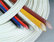 PVC/silicone /silicone rubber/acrylic coated fiberglass insulation sleeving for electric appliance