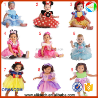 2015 hot selling factory on promotion baby girls dress lovely kids clothing high quality child clothes for 80-120 cm
