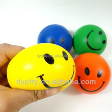 cheap price pu foam custom smiley face stress ball
