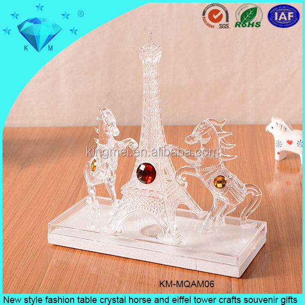 New Style Fashion Table Crystal Horse