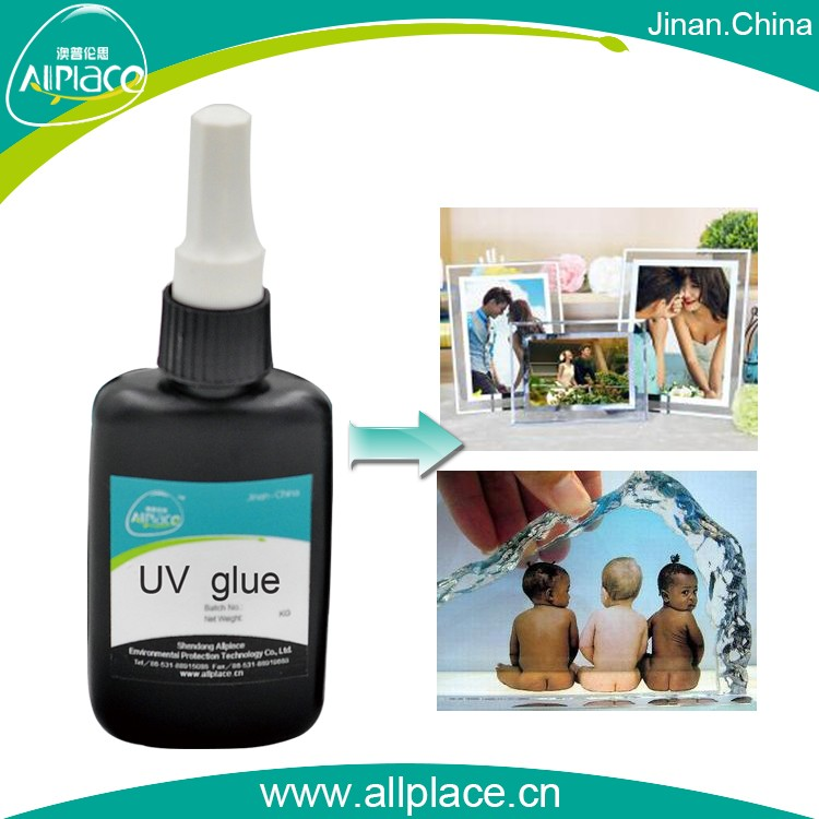 UV adhesive for crystal photo