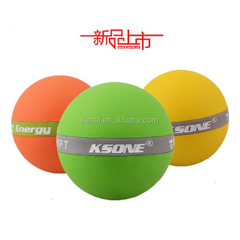 7CM rubber massage lacrosse ball yoga massage ball trigger point massage ball