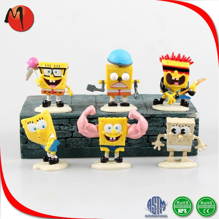 Promotion gifts custom PVC keychain plastic action figure factory