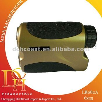 800m 6x25 laser rangefinder for golf measuring instrument LR080A