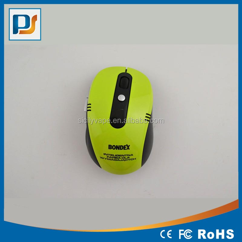 2.4G Wireless Mouse 6D Computer Mouse Wireless USB Optical Mouse with Customized Logo