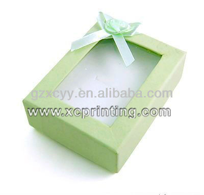 Cosmetic Packaging Box With PVC Window Custom
