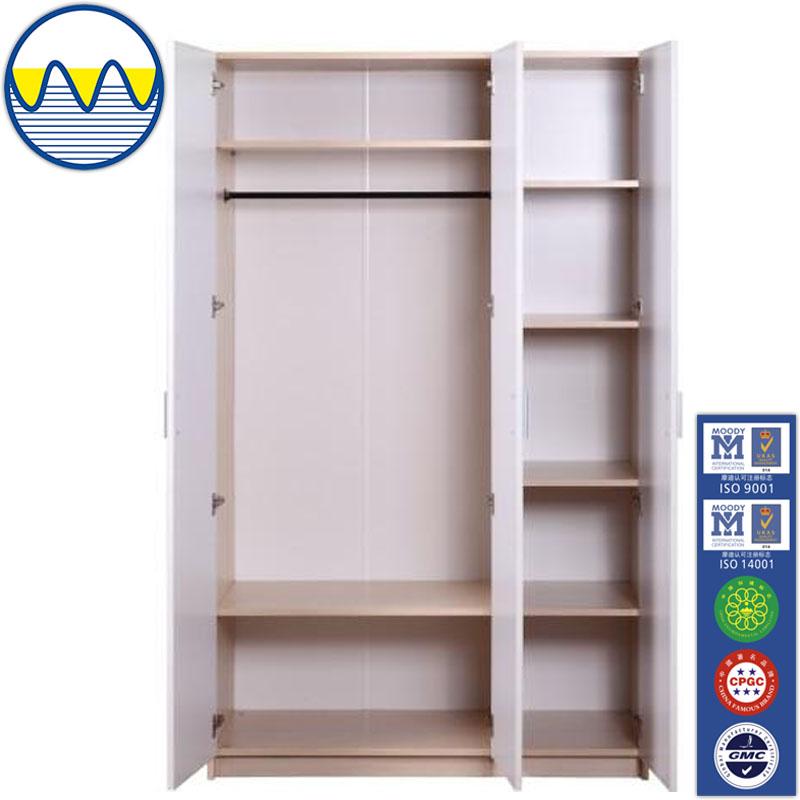 Slaapkamer Wandkasten : Moderne goedkope houten kleding kast ontwerp ...