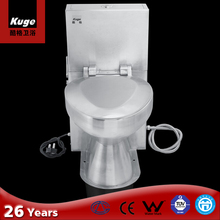 Stainless Steel Caravanning Flush Toilet