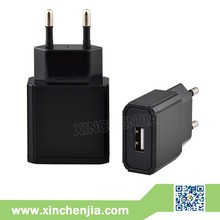 Dual single usb port 5V 1A 2A 3A table mobile phone charger