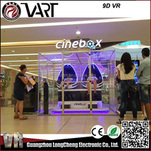 Amusement roller coaster Interactive Virtual Reality 9d vr egg cinema 9dvr game simulator