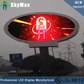 P6 Outdoor full color led round screen/led video wall panel/led outdoor billboard