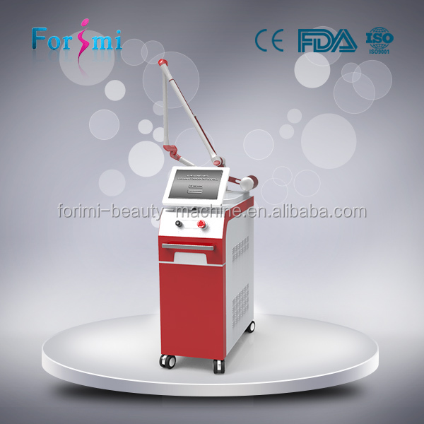 2016 newly 1300W nd yag q switched rejuvenation skin hair removal functional laser tattoo removal machine forimi