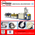 plastic pe single wall corrugated pipe manufacturing equipment
