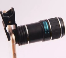 Hot sale Large view telescope opticial 12x Zoom mobile phone camera Lens
