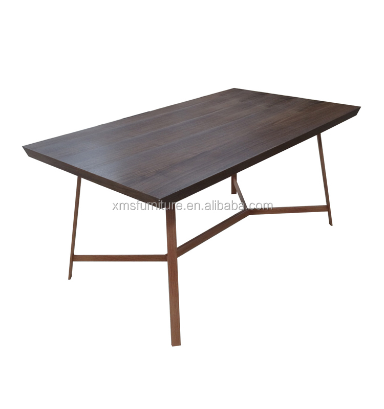 Tianjin Furniture No Folded Modern Latest MDF Dining table Designs
