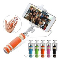High power selfie stick,wired phone / camera selfie stick with good quality