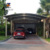 Outside sheds storage shelter portable car garage