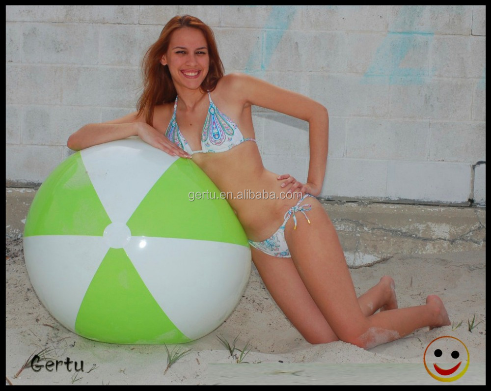 2016 new supplier Eco friendly inflatable beach ball set