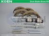 Supply Drum Brake Shoes Kit Use For MAGNETI MARELLI:600000093440 - 600000093390 - 360219198334 - 600000095