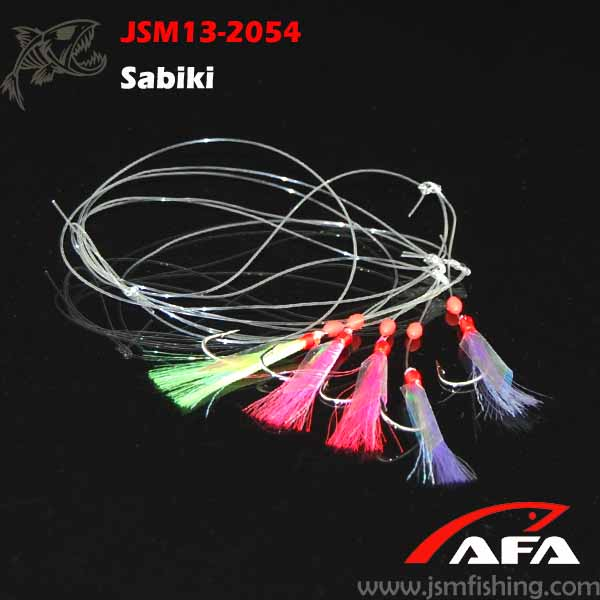 Wholesale fishing abiki rigs with hook JSM13-2054