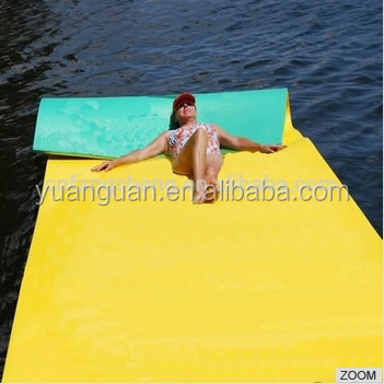 Water Pad With Foam Swimming Floating Mat For Lake Water Pool Rafts Recreation And Relaxing