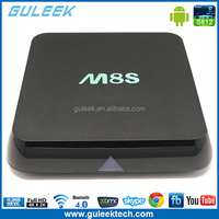 Original M8S Android TV Box with Amlogic S812 Quad core 2.0GHz Dual Band Wifi XBMC CODI Fully Load 4K HD Sex Pron Video H.265