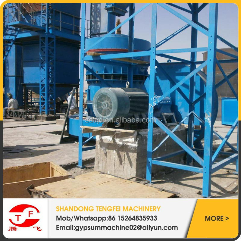 high rate of return gypsum powder/plaster of paris making machine