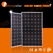 ISO CE UL certificates mono solar panel 250 watt for solar power system