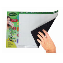 Paper made magnetic dry erase board with erasable marker pen for promotion