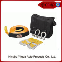 Heavy-Duty 4WD Recovery Kits, Basic Recovery Accessories, Recovery Strap, Snatch Strap