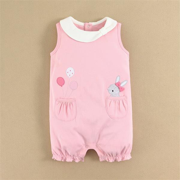 2015 Hot Selling Cotton Baby Romper from China Factory Customize Welcome