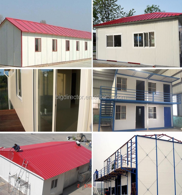 Easy Assembly Prefab Houses Cost Per Square Foot In India