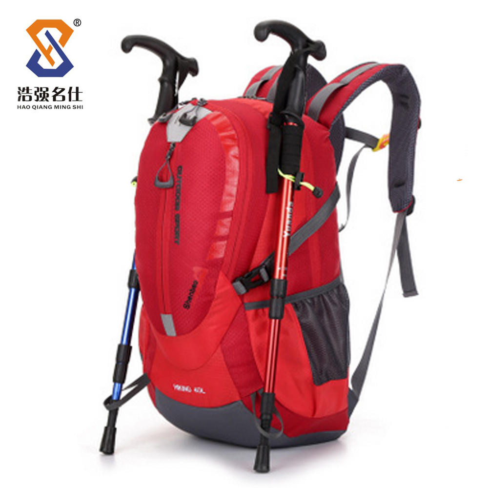 2016 China Best sale basic hiking backpack,outdoor adventure backpack