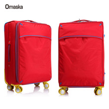 China alibaba light weight bag popular design soft trolley luggage