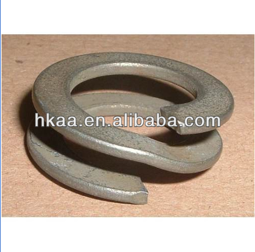 OEM Industrial Titanium washer,stainless steel heavy duty double ring spring washer