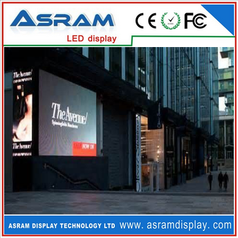 Hot sale new products led outdoor waterproof display panel P10/ Propaganda sign display